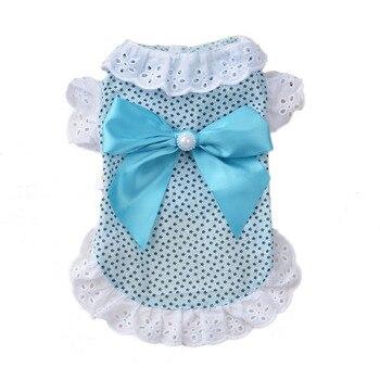 Sweet Bowknot Kitten Princess Lace Shirt 1