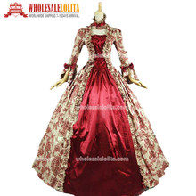 Top Sale Georgian Victorian Gothic Period Dress Prom Gown Reenactment Theatre Clothing(China)