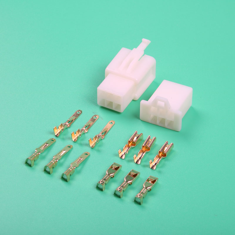 Connectors & Terminals Original 20sets 4.0 Mm 1pin Car Electrical Connector Kits Male Female Bullet Butt Terminal Sheath For Auto Motorcycle Ect Terminals