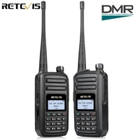 2pcs Retevis RT80 DMR Radio Digital Walkie Talkie UHF 400 480MHz 5W Digital Mobile Radio VOX
