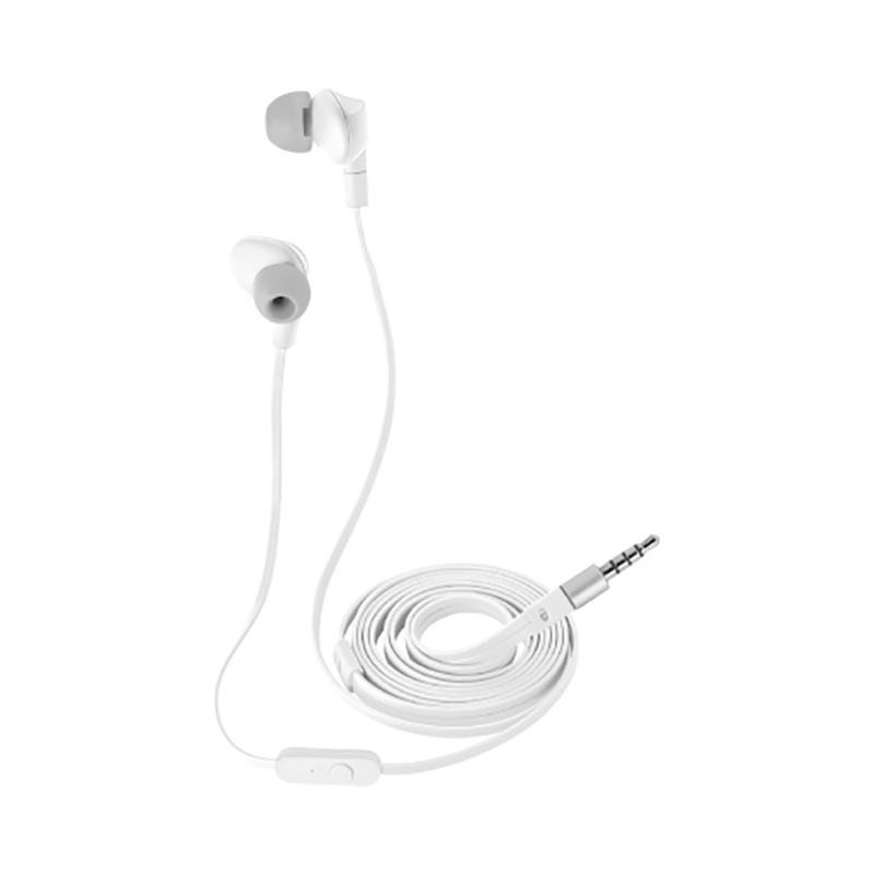 Earphones Trust Aurus White