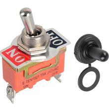 1 шт. оранжевый E-TEN 1021 сверхмощный SPST 2 терминал вкл/выкл тумблер и водонепроницаемый колпачок VE186 P0.11