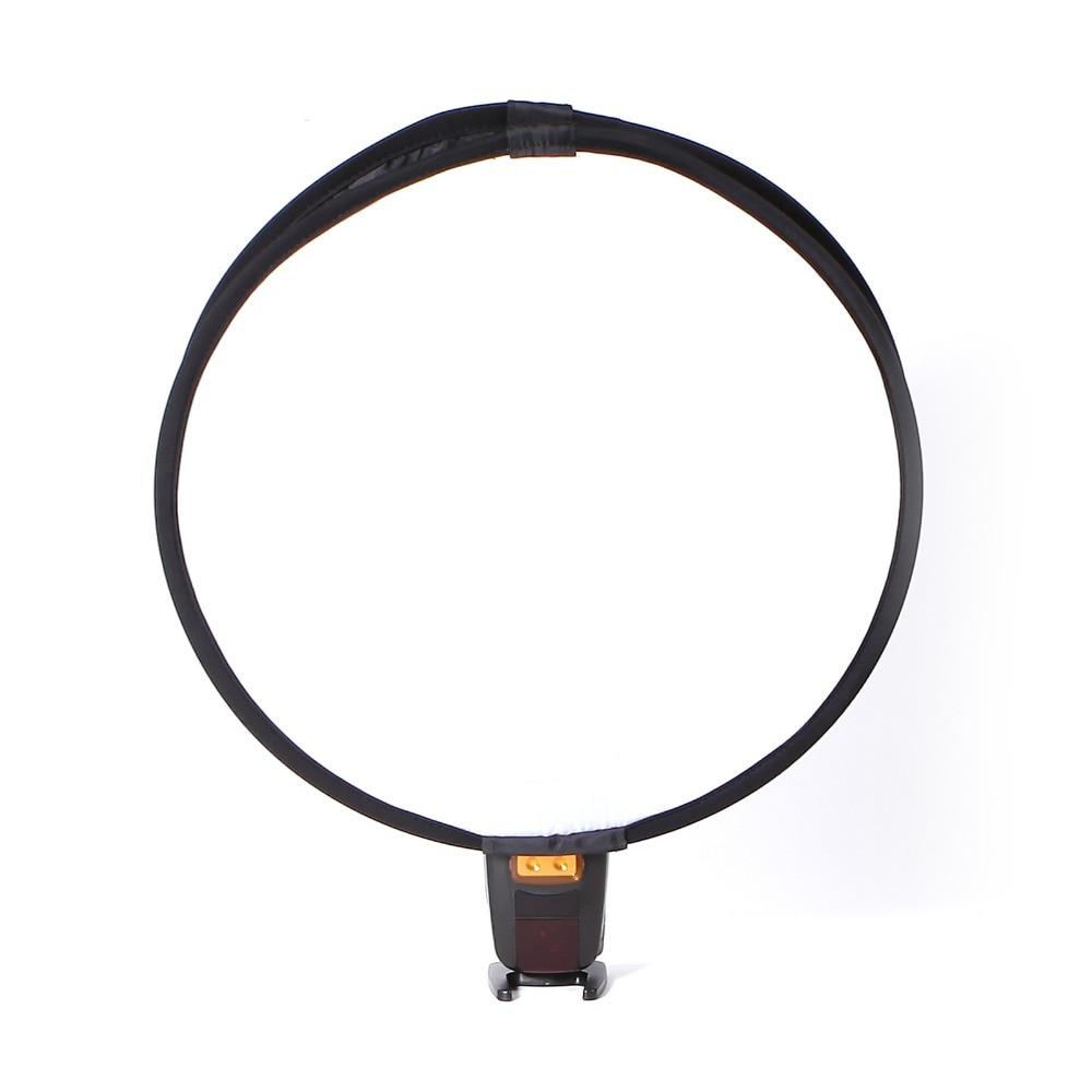 준비 재고 40cm 유니버설 Fordable 플래시 스피드 라이트 Softbox 디퓨저 캐논 니콘 휴대용 가벼운 컨트롤 기어