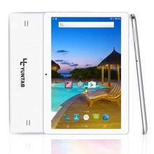 Yuntab K107 10.1 pulgadas de pantalla táctil 3g tablets PC Android 5.1 Construido con Doble Cámara Desbloqueado Doble Tarjeta Sim de teléfono móvil ranuras