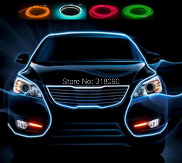 new design 5sets lot car decoration lamp led car atmosphere light auto interior strip light. Black Bedroom Furniture Sets. Home Design Ideas