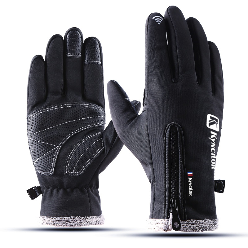 2019 Waterproof Winter Warm Gloves Men Ski Gloves Snowboard Gloves Motorcycle Riding Winter Touch Screen Snow Windstopper Glove