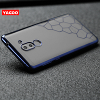 Huawei Honor 6X Case Silicone Transparent Soft For Huawei Honor 6Xcase Yagoo Original Luxury Back Cover
