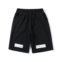 19SS OW off white short pants harajuku Sweatshirt hip hop