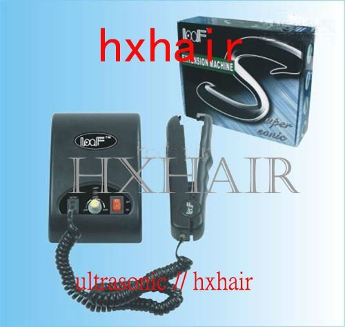 Freeshipping - 2pcs Ultrasonic Hair Extension Fusion Connector / Ultrasonic Hair Extension Fusion Iron