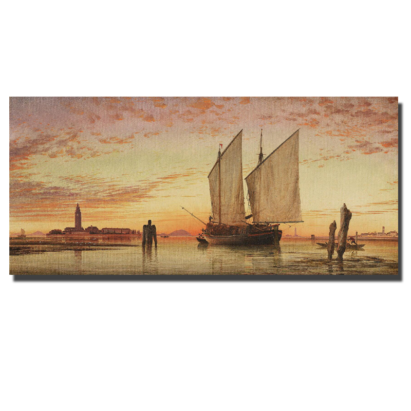 Home Goods Artwork: Aliexpress.com : Buy Digital Prints Sea Boats Home Goods