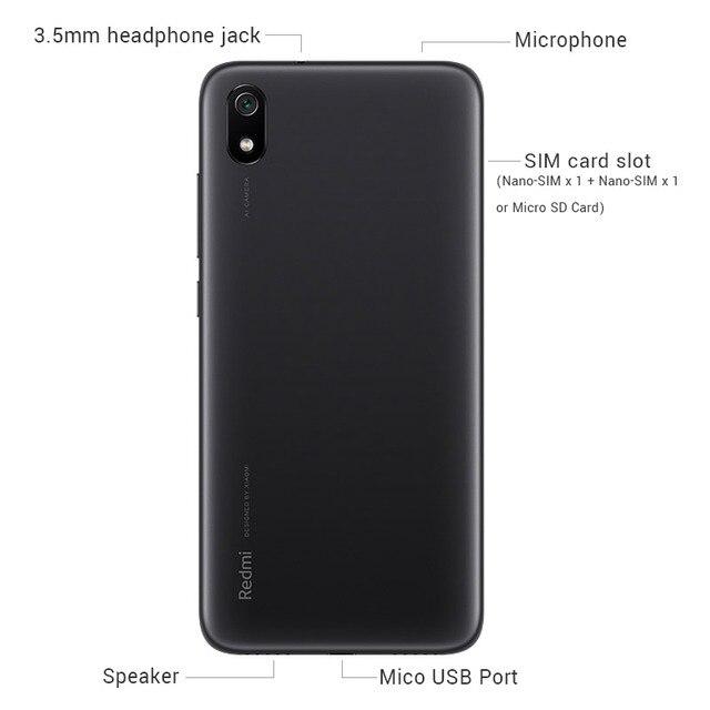 Global Rom Xiaomi Redmi 7A 7 A 3GB 32GB SmartPhone Snapdargon 439 Octa core 5.45 4