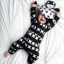 2016 autumn style infant infant clothes baby clothing sets boy girl Cotton baby Romper leotardlong sleeve baby boy girl clothes