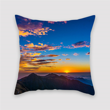 Fuwatacchi Home Decor Cushion Cover Beautiful Scenic Boat Rivers Bridge Pattern Pillows for Car Room