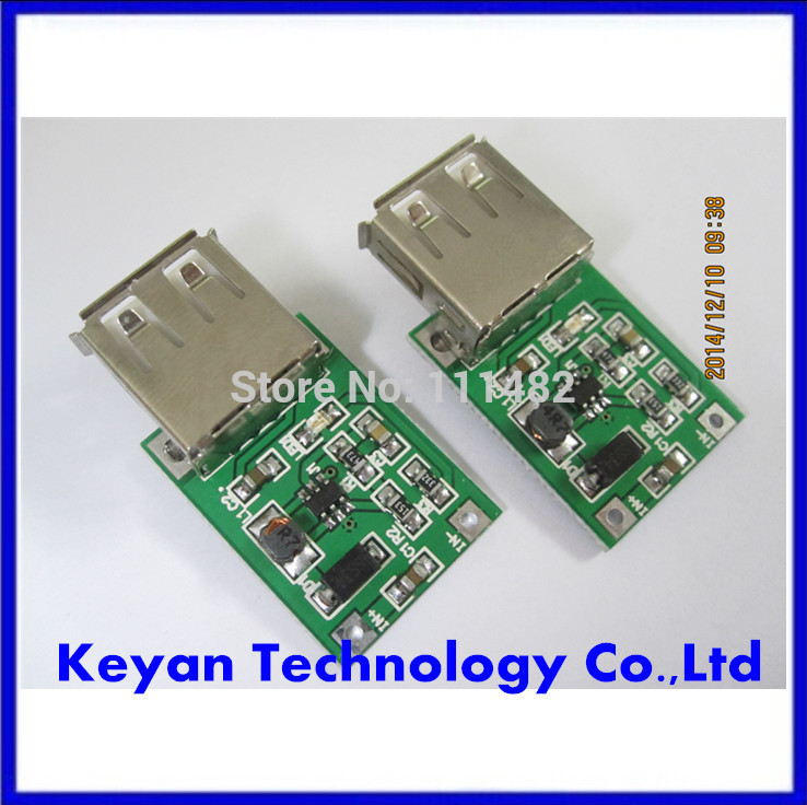 20PCS/LOT 0.9V ~ 5V to 5V 600MA USB Output charger step up Power Module Mini DC-DC Boost Converter