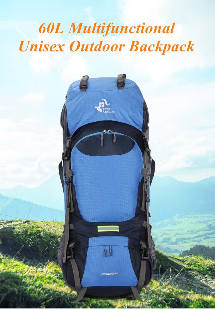 Waterproof 65L Tactical Unisex Backpack