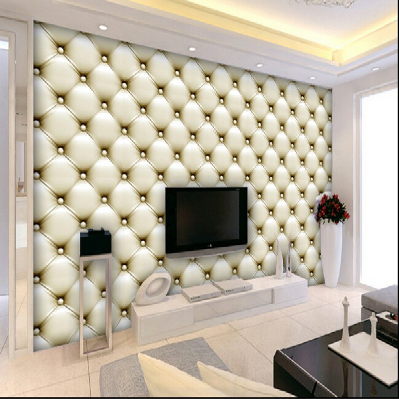 Custom bedroom TV backdrop 3D wallpaper for living room bedroom 3D wallpaper murals  software package walls paper