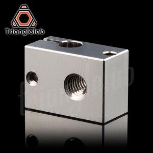 Image 2 - Trianglelab bloc chauffant en cuivre plaqué V6, bloc chauffant pour imprimante 3D E3d V6 Hotend, pour cartouche, extrudeuse BMG TItan