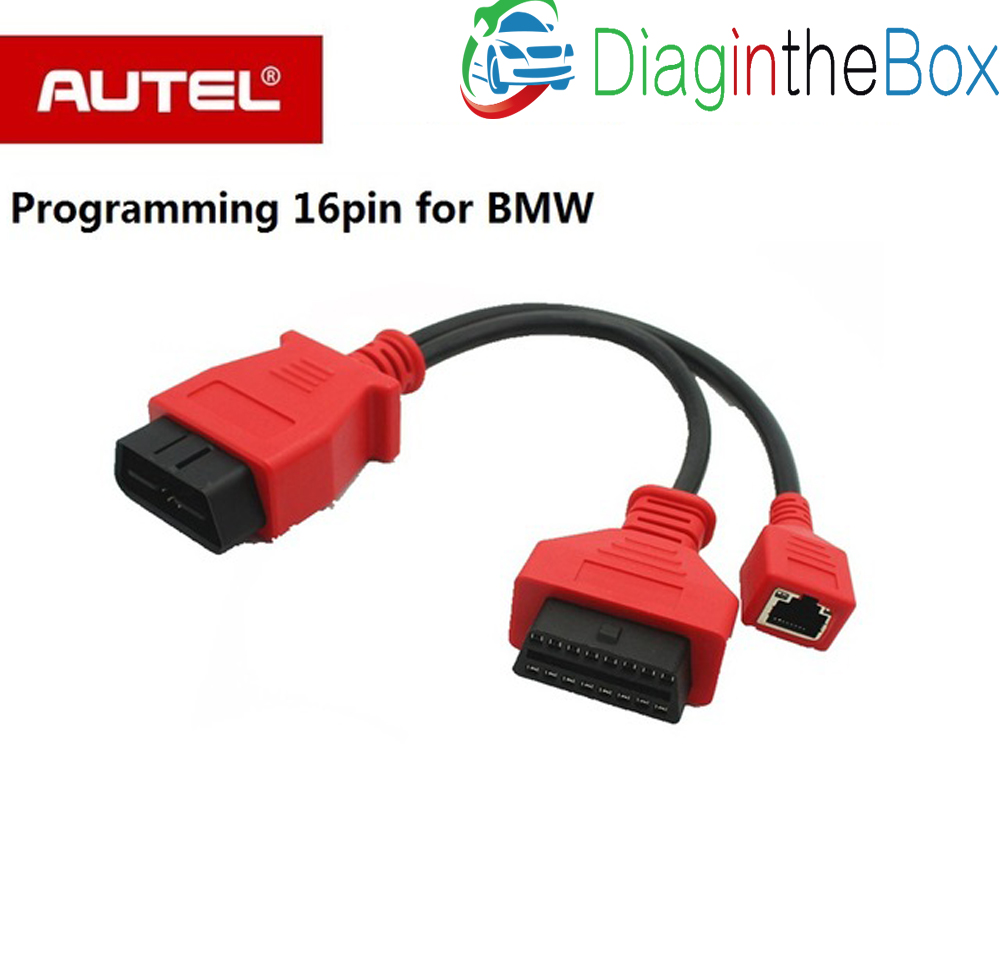 Autel Auto Programming Cable for BMW Ethernet cable for AUTEL Maxisys pro  ms908p & Autel Maxisys Elite 16 pin Cable