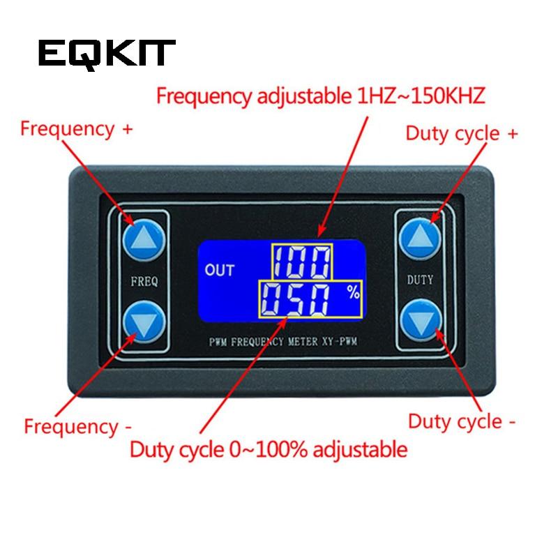 1 Hz ~ 150 Khz Signal Generator Digital Display Pwm Pulse Frequenz Duty Verhältnis Einstellbare Platz Welle Rechteckigen Signal Generator Lassen Sie Unsere Waren In Die Welt Gehen