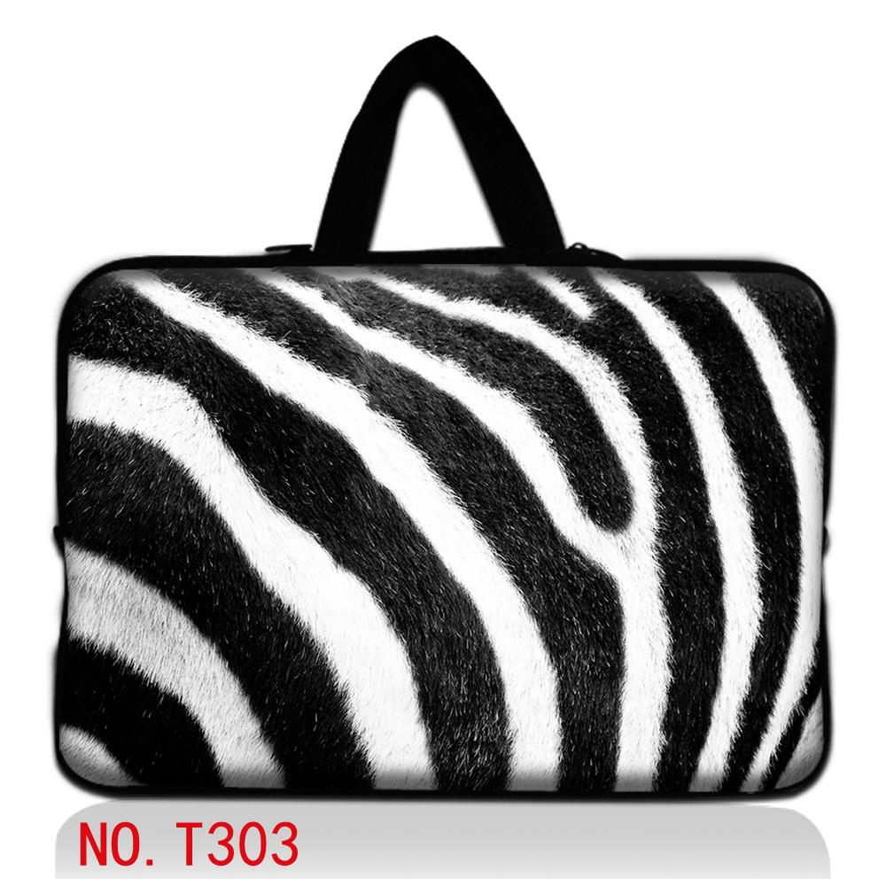 Zebra Laptop Notebook Bag Cover Case Sleeve Pouch For 10.1 12 13.3 1415.6 17.3 For HP Pavilion ASUS Dell Waterproof