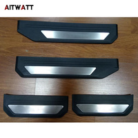 Car Styling Stainless Steel Scuff Plate Door Sill Guard Thresholds Cover Trims Protector For Honda HRV HR V Vezel 2014 2015 2016