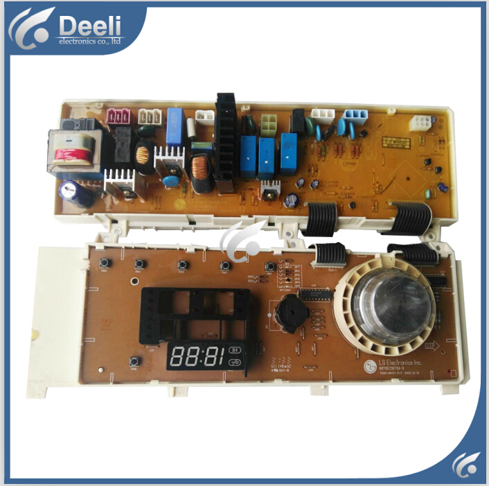 100% tested for washing machine used board control board WD-80180N 6870EC9070A-0  Computer board used 100% tested ut38e