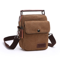 S P L Men Messenger Bag Small Handbag Shoulder Bag Business Zipper Canvas Bolsos Mujer Female