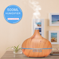 Air Humidifier Essential Oil Diffuser Aroma Lamp Aromatherapy Electric Aroma Diffuser Mist Maker for Home Use #