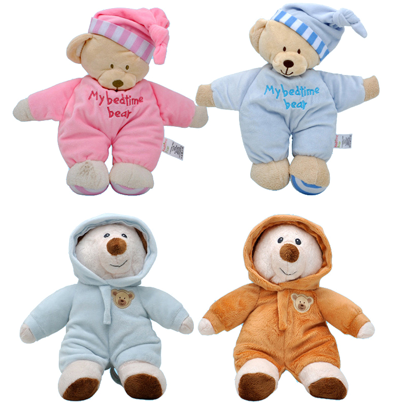 Kids Toys 10 Style Cute Bear Of Baby Toys Soft Gift For Newborns Toys For Kids  Educational Plush Toys For Boy New Year Gift