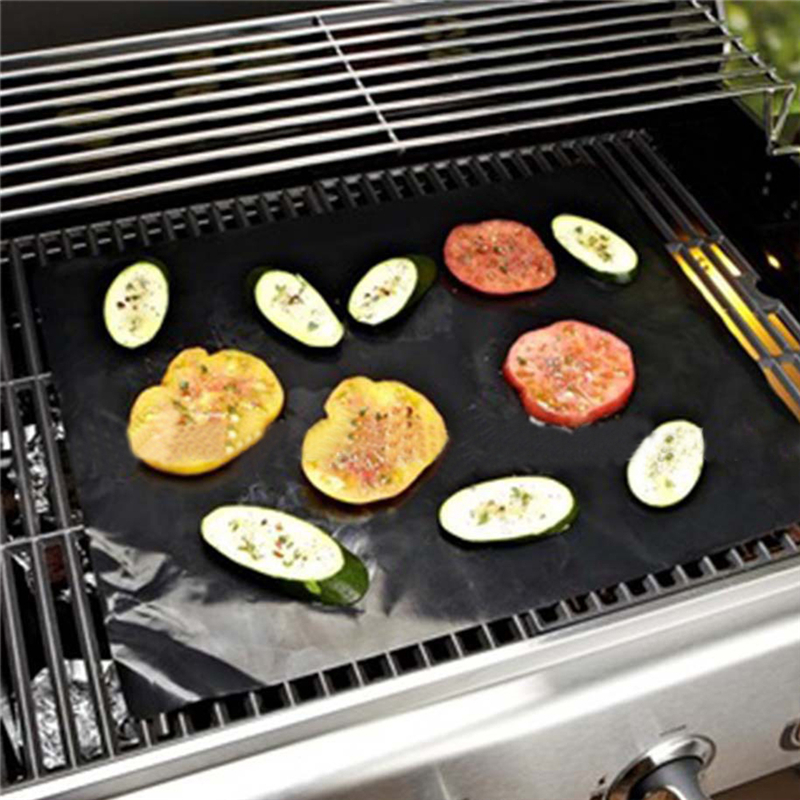 BBQ Grill Mat Teflon Excellent Anti-sticking Properties Heat Resistance High Quality Cooking / Barbecue Mats