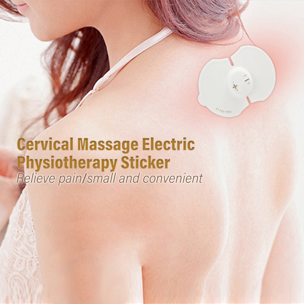 Bady Massage Tens Cervical Back Neck Masajeador Massager Electric Physiotherapy Sticker Fisioterapia <font><b>Masaje</b></font> Massageador Eletrico image