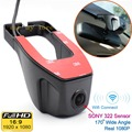 Wifi 170 degree Car DVR Registrator Video Recorder Camcorder Dash Camera 1080P Night Version Novatek 96655 use SONY 322 Sensor