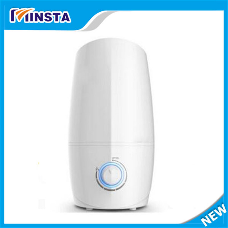 ФОТО 360-degree rotating twin fog mouth quiet operation suitable for pregnant women, children 3 liters capacity humidifier