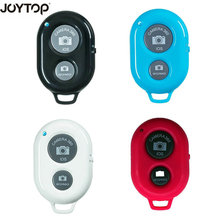 Bluetooth obturador controle remoto sem fio bluetooth auto temporizador câmera telefone monopod selfie vara obturador controlador