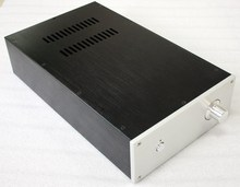 WA11 Aluminum enclosure Tube amplifier Preamp chassis (AV21) size 395*230*90mm