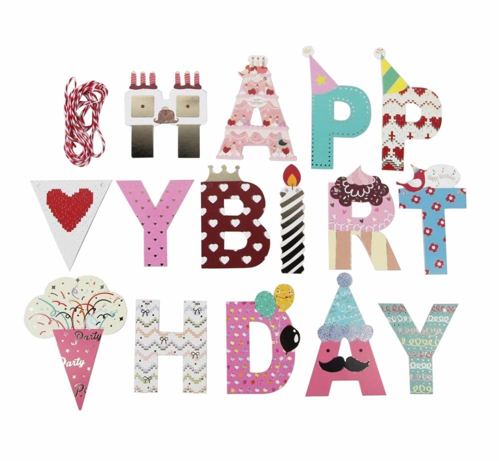 Aliexpress.com : Buy Kids Birthday Banner Party Supplies