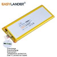 XWD 323696 P 3.8 V 1600 mAh Rechargeable li-Polymère Batterie Pour chine clone 4.7 pouces I6 6 s S7 MTK andorid téléphone 323696 PL323696