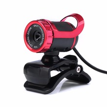 480P Web Cam with Absorption Microphone MIC for Skype for Android TV Rotatable Computer Special effects Camera Webcam недорого