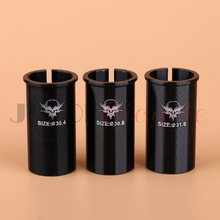 Seat Adjustable sets Changing the diameter of the seat tube Conversion 27.2 30.4 / 30.8 / 31.6 Aluminum Seat Posts MTB Road bike the new hydraulic suspension mountain bike aluminum seat tube diameter 31 6 seat post 350mm