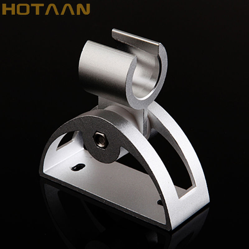 Free Shipping 1 Pc/lot Solid Aluminum Wall Mounted Hand Shower Holder Hook Pedestal Bracket In Wall Shower Accessories,YT-5138