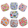 3 pcs/lot Baby Diapers Cloth Diaper Reusable Nappies Training Pants Diaper Cover Washable Free Size