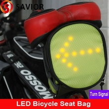 Savior M-05 Biking and Cycling tail Bags With LED Indicator Light Bicycle seat bag turn light sigal,turn signal,biking tal box