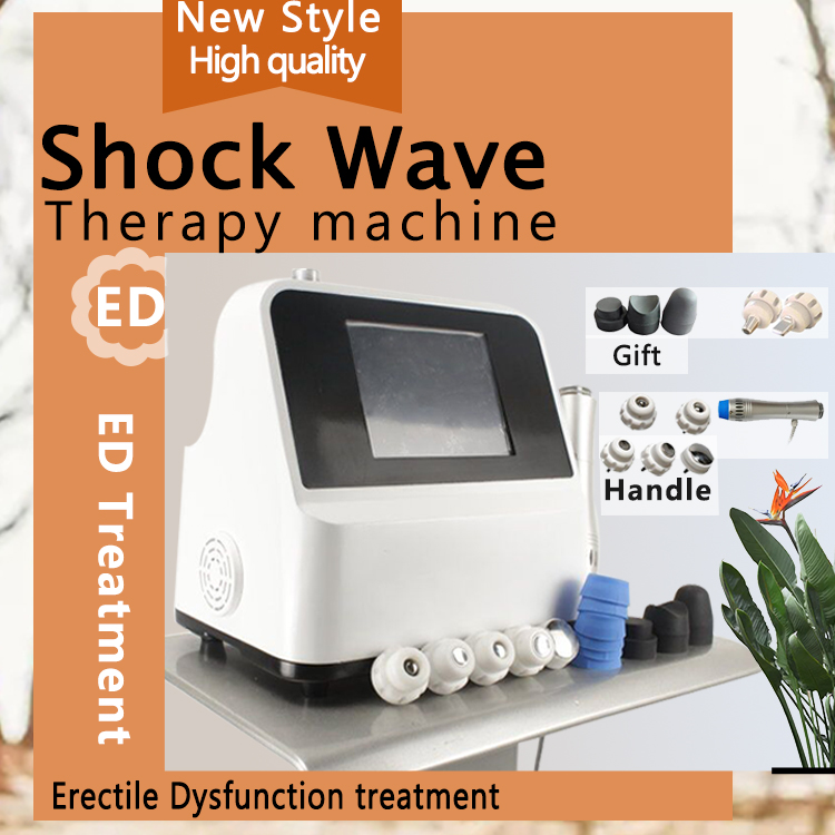 Extracorporeal Shock Wave Therapy Acoustic Wave Machine Relief High Effective Pulse Activation Technology Equipment