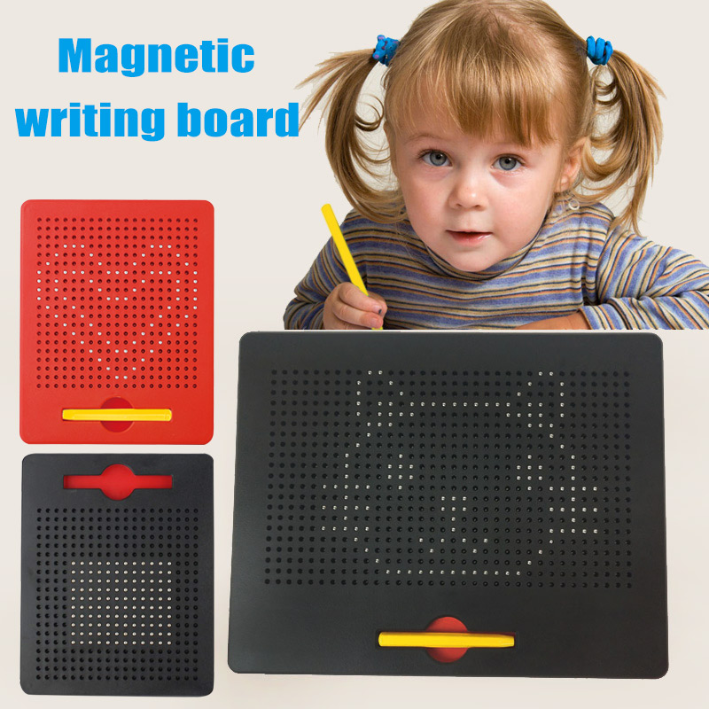 Magnetic Ball Doodle Pad Sketch Tablet Kids Drawing Board Learning Playing Toy Gift M09