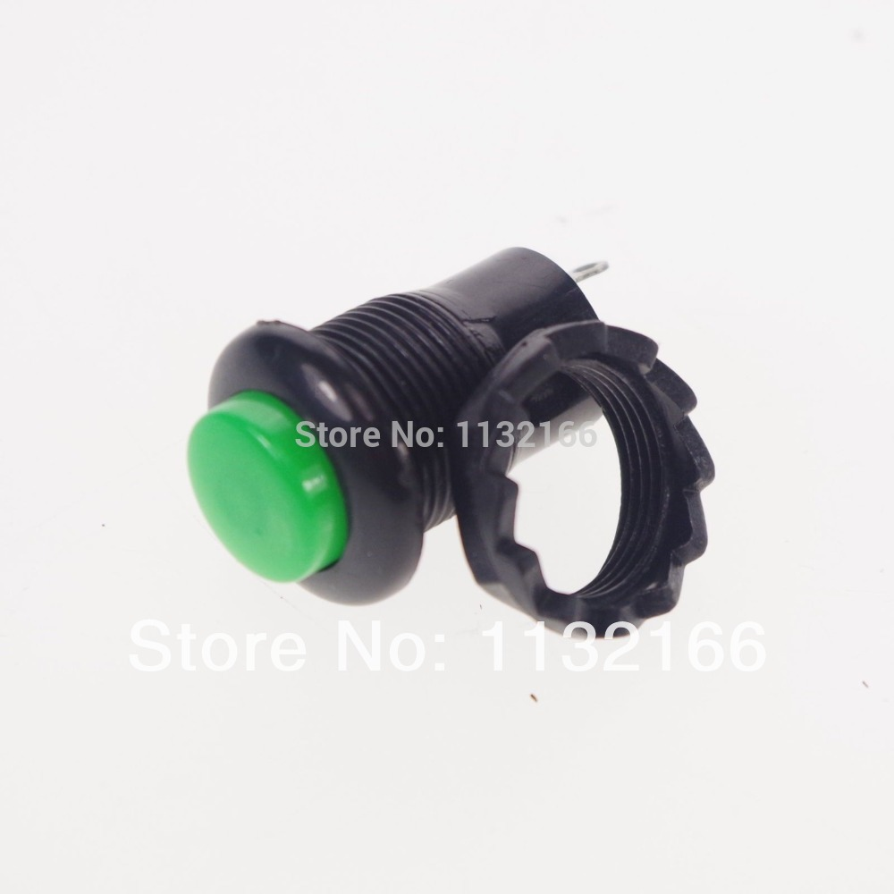 Green 2 Pin Hole 12mm Spst Off On 1a 125vac No Momentary Push Switch Wiring Diagram Button