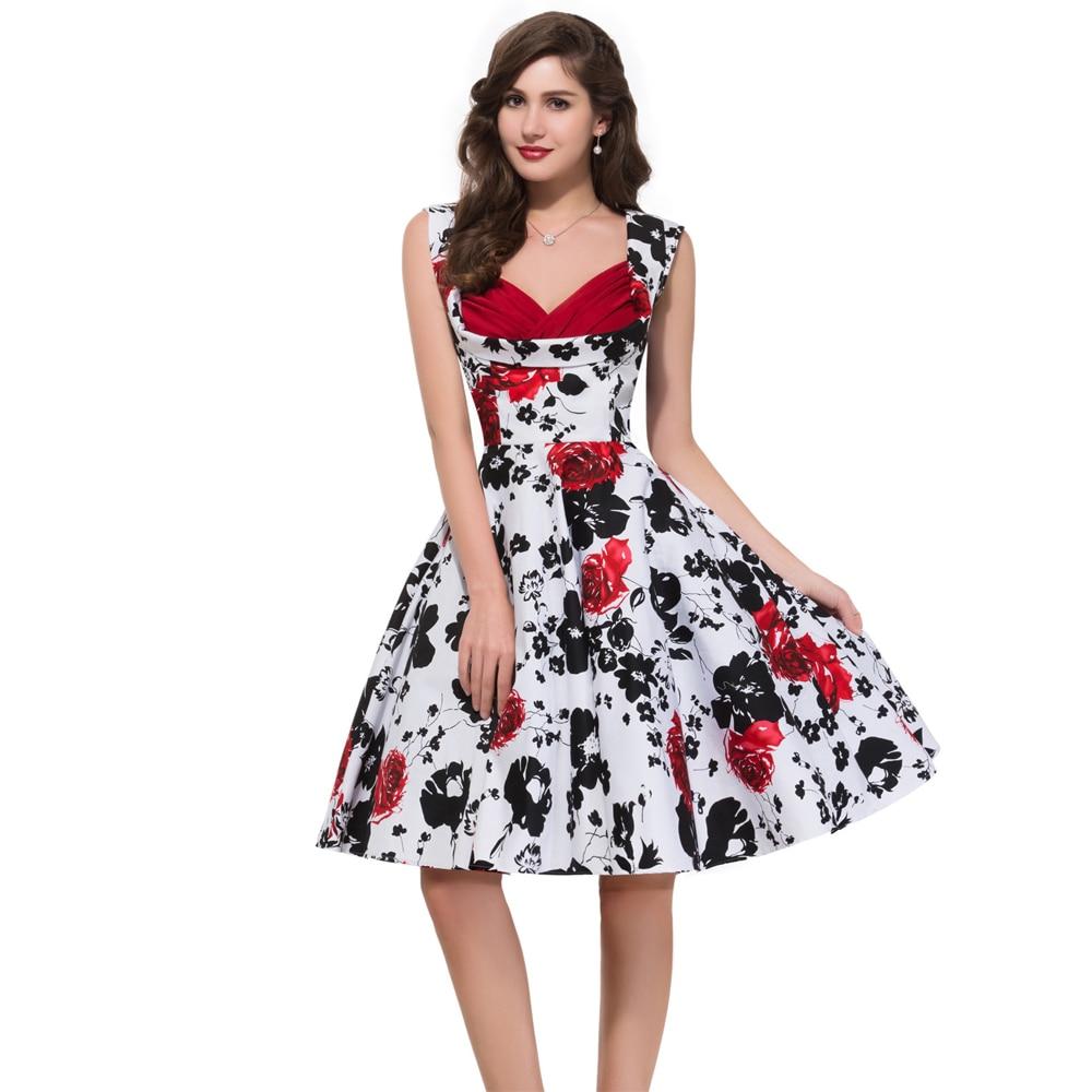 Popular Vintage Rockabilly Dress Pattern-Buy Cheap Vintage ...
