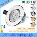 20 pcs Por DHL Baixo Preço da Alta Qualidade Conduziu a lâmpada Embutida 9 W Lâmpada Led 85-265 V CONDUZIU a iluminação led downlight spot light com led unidade