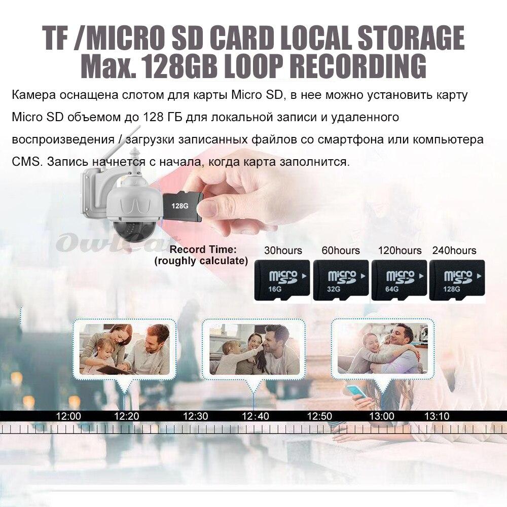 OwlCat im Freien / wasserdichte Haube PTZ IP-Kamera Wifi HD 2MP 5MP - Schutz und Sicherheit - Foto 5
