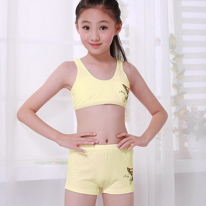 Aliexpress.com : Buy Children Underwear Set Kids Puberty Young ...