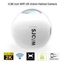 Натуральная SJCAM SJ360 действие Камера Открытый Спорт DV Беспроводной 360 градусов панорамный Камера 3D VR камера спорта WiFi 12MP 2 К 30fps